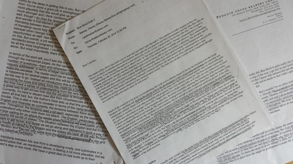 edit letters